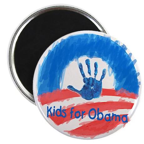 """Kids for Obama 2.25"""" Magnet (100 pack)"""
