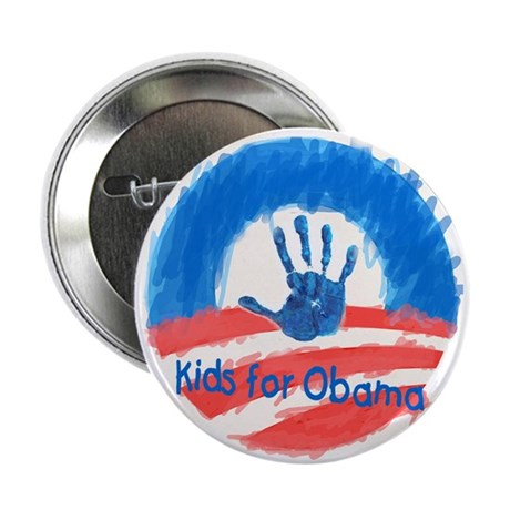 """Kids for Obama 2.25"""" Button (100 pack)"""