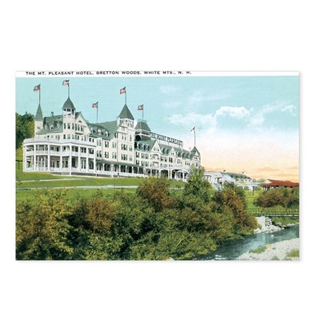 White MTS. NH Postcards (Package of 8)