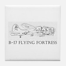 B-17 Flying Fortress Tile Coaster