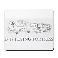 B-17 Flying Fortress Mousepad