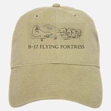 B-17 Flying Fortress Baseball Baseball Cap