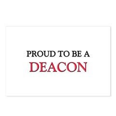 Proud to be a Deacon Postcards (Package of 8)