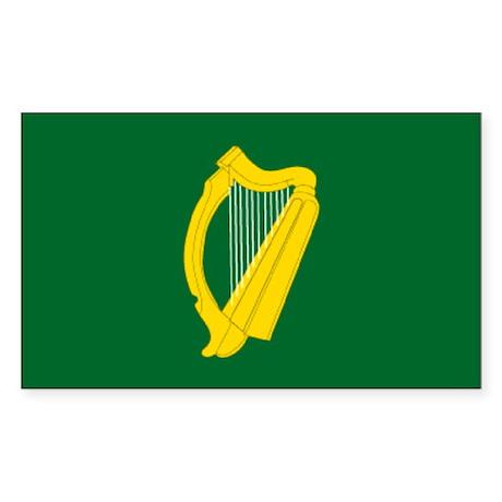 """Leinster Provincial Flag"" Rectangle Sticker"