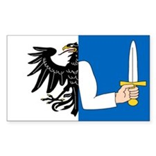 """Connacht Provincial Flag"" Rectangle Decal"
