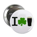 """I Love Pints 2.25"""" Button (10 pack)"""