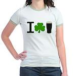 I Love Pints Jr. Ringer T-Shirt