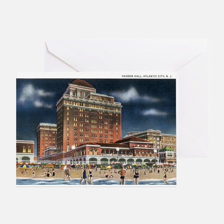Atlantic City NJ Greeting Card