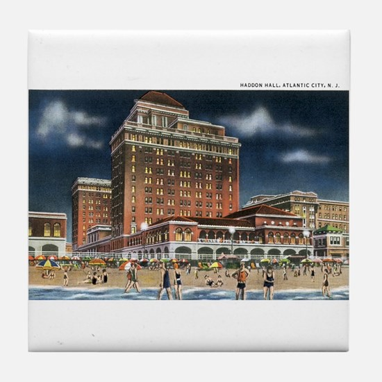 Atlantic City NJ Tile Coaster