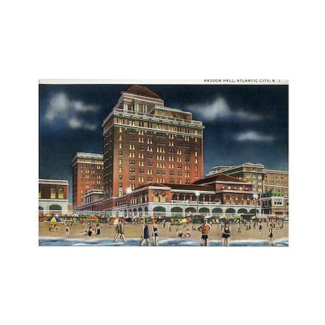 Atlantic City NJ Rectangle Magnet (100 pack)