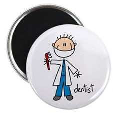 "Professions Dentist 2.25"" Magnet (100 pack)"