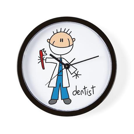 Professions Dentist Wall Clock
