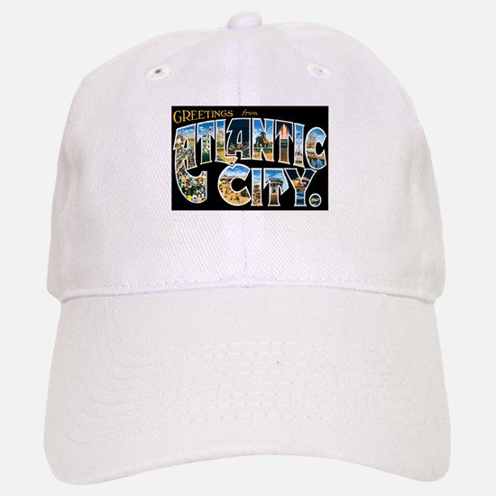 Atlantic City New Jersey NJ Baseball Baseball Cap