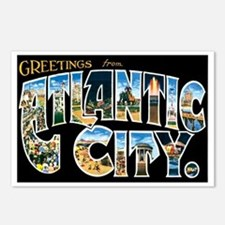 Atlantic City New Jersey NJ Postcards (Package of