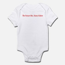 The Future Mrs. Kasey Kahne Infant Bodysuit