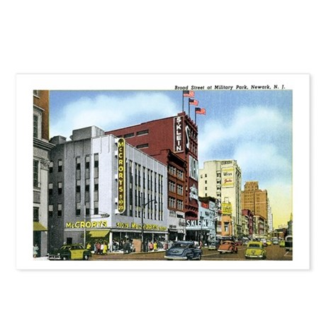 Newark New Jersey NJ Postcards (Package of 8)