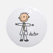 Professions Doctor Ornament (Round)