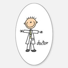 Professions Doctor Oval Decal