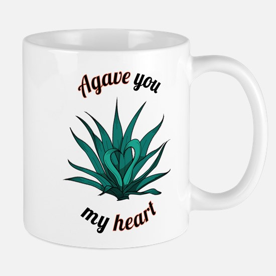 agave you my heart Mugs