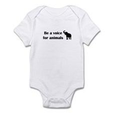 Be a voice Infant Bodysuit