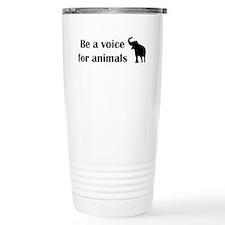 Be a voice Travel Mug