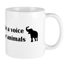 Be a voice Small Mugs
