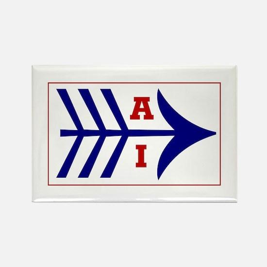 Cute Mohawk Rectangle Magnet (10 pack)