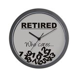 Retired wall clock Wall Clocks