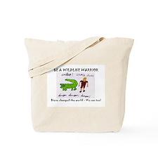Cute Steve irwin Tote Bag