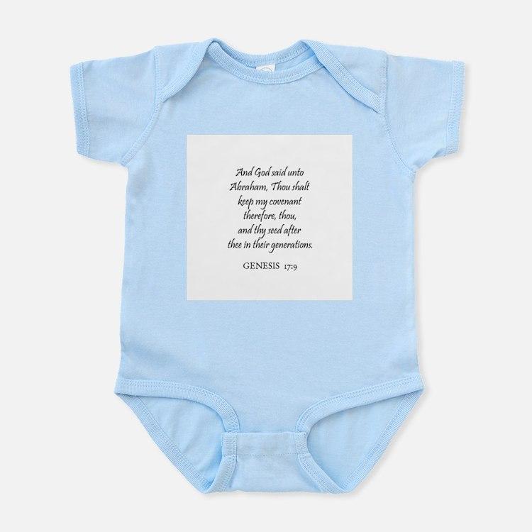 GENESIS  17:9 Infant Creeper