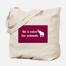 Be a voice Tote Bag