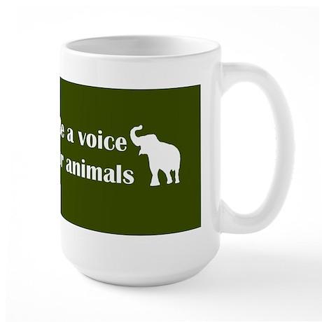 Be a voice Large Mug