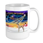 XmasSunrise/Sloughi Large Mug