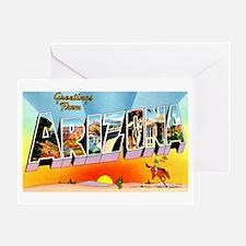 Arizona State Greetings Greeting Card