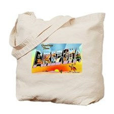 Arizona State Greetings Tote Bag