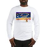XmasSunrise/Shiba Inu 3 Long Sleeve T-Shirt