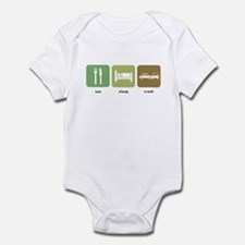 Eat Sleep Crash Cars Infant Bodysuit