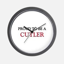 Proud to be a Cutler Wall Clock