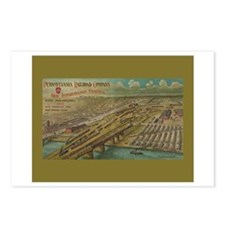 1902 PRR Poster - Postcards (Package of 8)