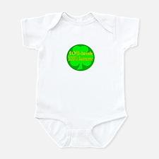 50% Irish, 100% Awesome Infant Bodysuit