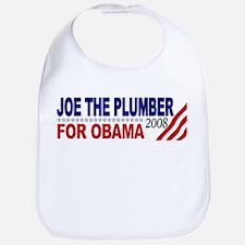 Joe the Plumber for Obama Bib