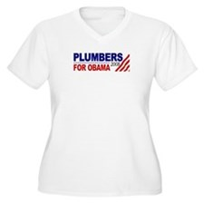 Plumbers for Obama 2008 T-Shirt