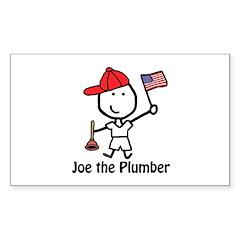 Flag - Joe Plumber Rectangle Sticker 10 pk)