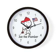 Flag - Joe Plumber Wall Clock