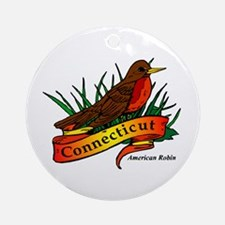Connecticut Pride! Ornament (Round)