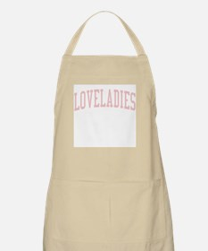 Loveladies New Jersey NJ Pink BBQ Apron