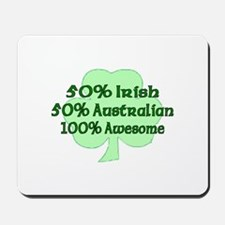 50% Irish, 50% Australian, 10 Mousepad