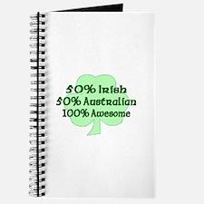 50% Irish, 50% Australian, 10 Journal