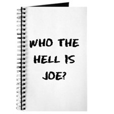 Who the Hell is Joe? Journal