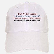Senator Government - Vote McC Baseball Baseball Cap